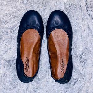 Women's Navy Blue Lucky Brand Flats
